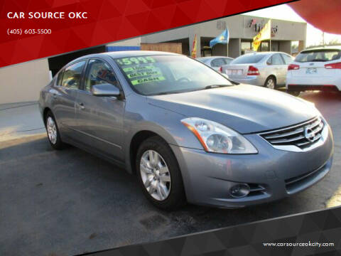 2012 Nissan Altima for sale at CAR SOURCE OKC in Oklahoma City OK