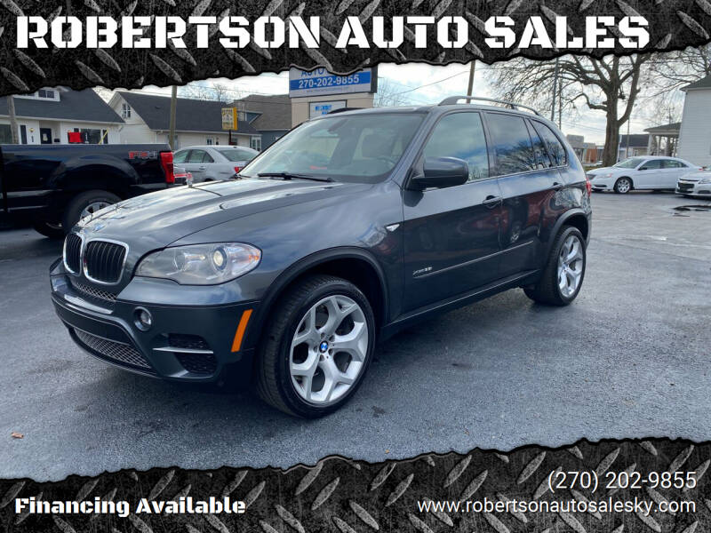 2013 BMW X5 for sale at ROBERTSON AUTO SALES in Bowling Green KY