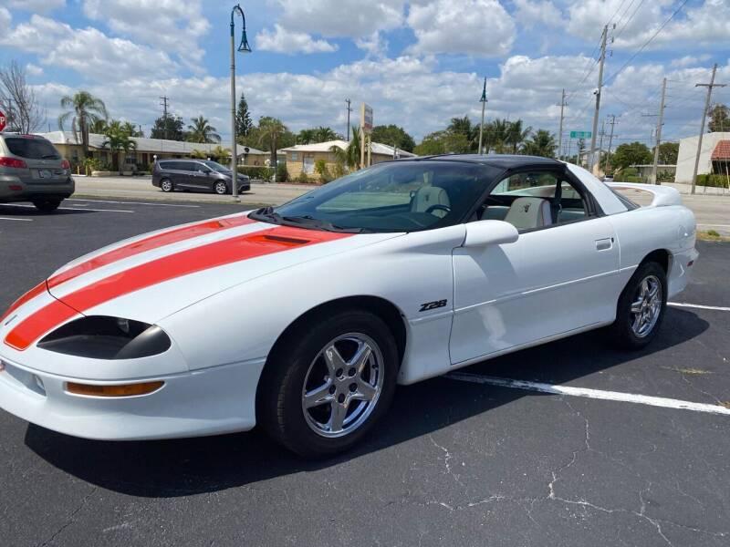 1997 Chevrolet Camaro for sale at American Classics Autotrader LLC in Pompano Beach FL