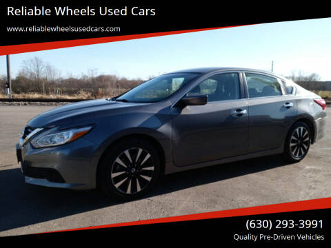 2018 Nissan Altima for sale at Reliable Wheels Used Cars in West Chicago IL