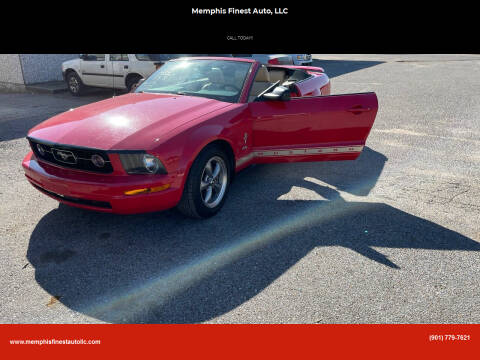 2006 Ford Mustang for sale at Memphis Finest Auto, LLC in Memphis TN