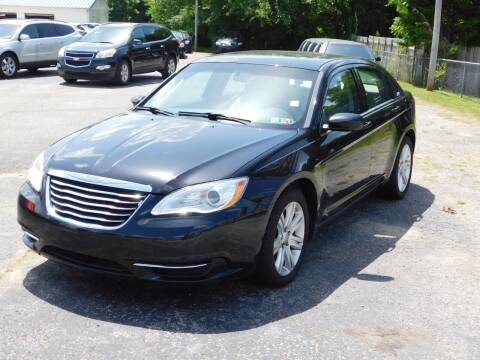 2011 Chrysler 200 for sale at National Advance Auto Sales in Florence AL