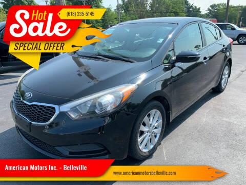 2014 Kia Forte for sale at American Motors Inc. - Belleville in Belleville IL