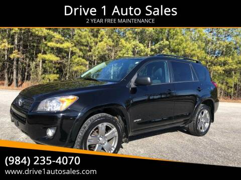 2011 Toyota RAV4 for sale at Drive 1 Auto Sales in Wake Forest NC