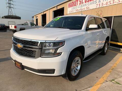 2015 Chevrolet Tahoe for sale at Market Street Auto Sales INC in Houston TX