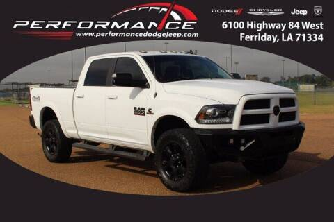 2017 RAM Ram Pickup 2500 for sale at Performance Dodge Chrysler Jeep in Ferriday LA