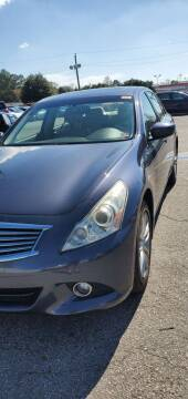 2011 Infiniti G25 Sedan for sale at M B & D AUTO in Va Beach VA