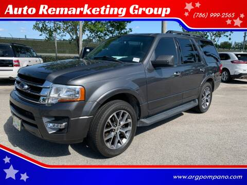 2015 Ford Expedition for sale at Auto Remarketing Group in Pompano Beach FL