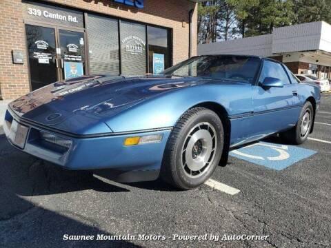 1984 Chevrolet Corvette for sale at Michael D Stout in Cumming GA