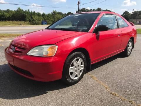 2003 Honda Civic for sale at CAR STOP INC in Duluth GA