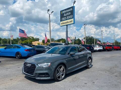 2018 Audi A3 for sale at Michaels Autos in Orlando FL