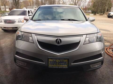 2010 Acura MDX for sale at Worldwide Auto Sales in Fall River MA