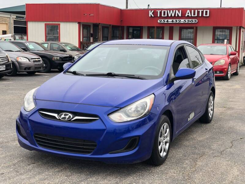 2013 Hyundai Accent for sale at K Town Auto in Killeen TX