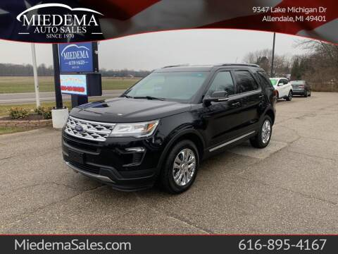 2018 Ford Explorer for sale at Miedema Auto Sales in Allendale MI