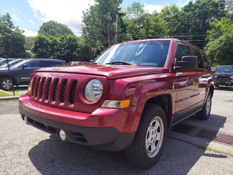 2016 Jeep Patriot for sale at AMA Auto Sales LLC in Ringwood NJ