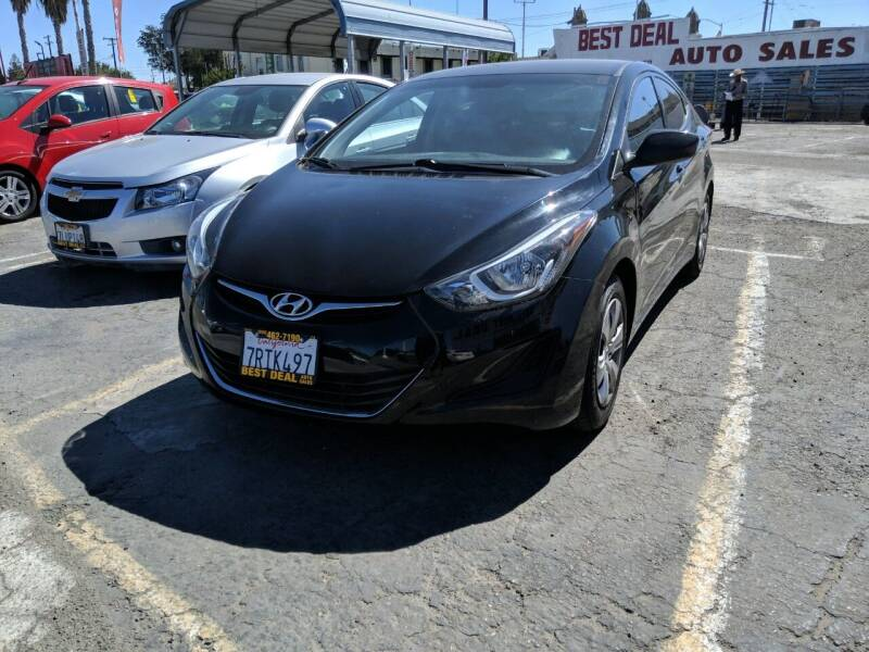 2016 Hyundai Elantra for sale at Best Deal Auto Sales in Stockton CA