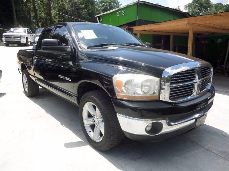 2006 Dodge Ram Pickup 1500 for sale at Garcia Trucks Auto Sales Inc. in Austell GA