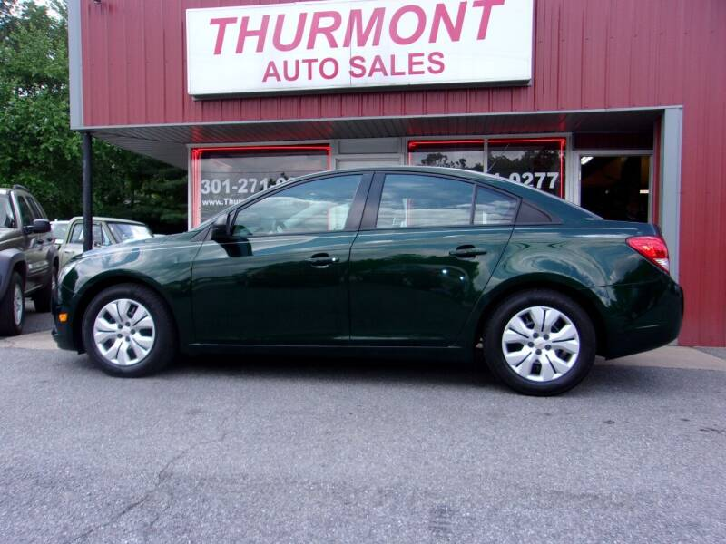 2014 Chevrolet Cruze for sale at THURMONT AUTO SALES in Thurmont MD