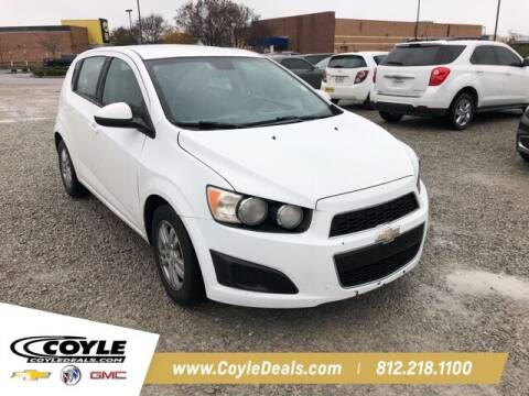 2012 Chevrolet Sonic for sale at COYLE GM - COYLE NISSAN - Coyle Nissan in Clarksville IN