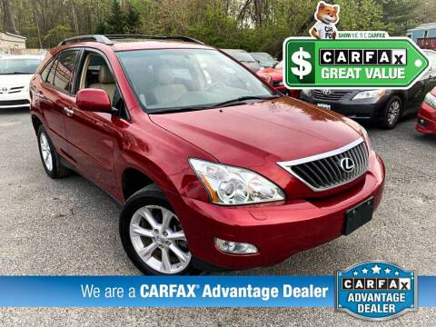 2009 Lexus RX 350 for sale at High Rated Auto Company in Abingdon MD