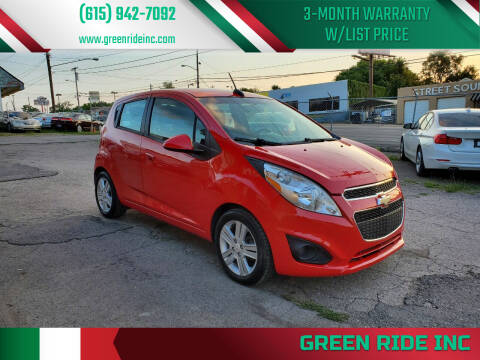 2015 Chevrolet Spark for sale at Green Ride Inc in Nashville TN