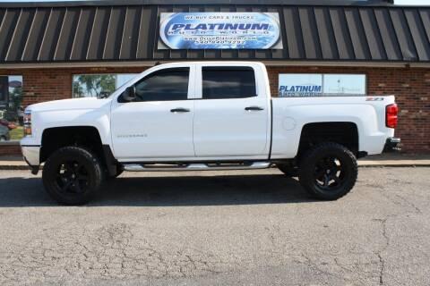 2014 Chevrolet Silverado 1500 for sale at Platinum Auto World in Fredericksburg VA