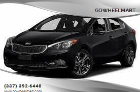 2015 Kia Forte for sale at GOWHEELMART in Leesville LA