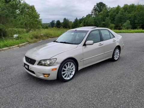 2004 Lexus IS 300 for sale at Apex Autos Inc. in Fredericksburg VA