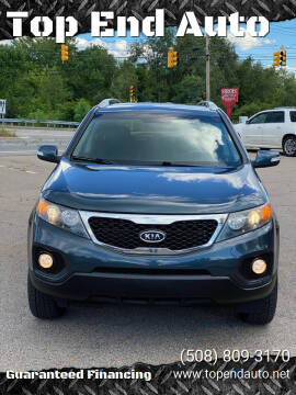 2011 Kia Sorento for sale at Top End Auto in North Atteboro MA