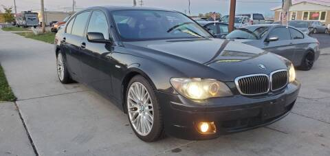 2007 BMW 7 Series for sale at Wyss Auto in Oak Creek WI