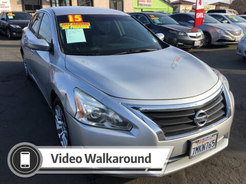 2015 Nissan Altima for sale at Super Cars Sales Inc #1 in Oakdale CA