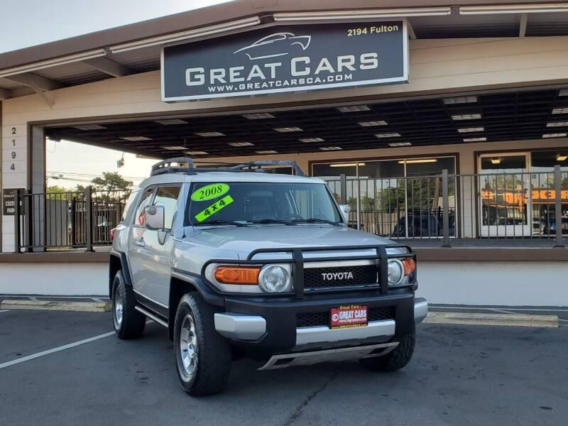 2008 Toyota FJ Cruiser for sale at Great Cars in Sacramento CA