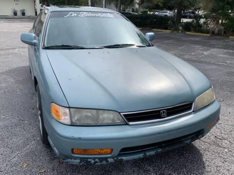 1995 Honda Accord for sale at Consumer Auto Credit in Tampa FL