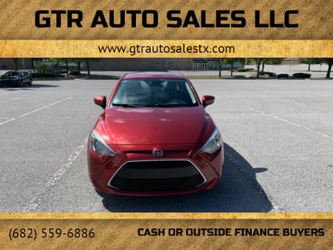 2016 Scion iA for sale at GTR Auto Sales LLC in Haltom City TX