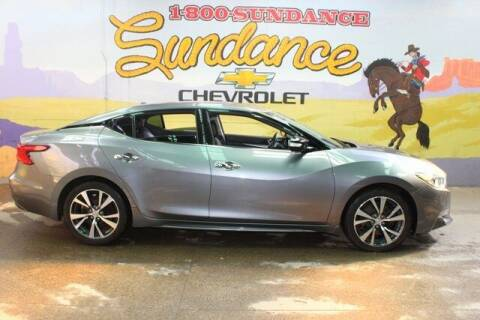 2016 Nissan Maxima for sale at Sundance Chevrolet in Grand Ledge MI