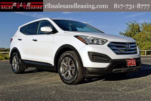 2015 Hyundai Santa Fe Sport for sale at RLB Sales and Leasing in Fort Worth TX