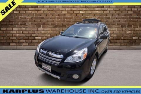 2013 Subaru Outback for sale at Karplus Warehouse in Pacoima CA