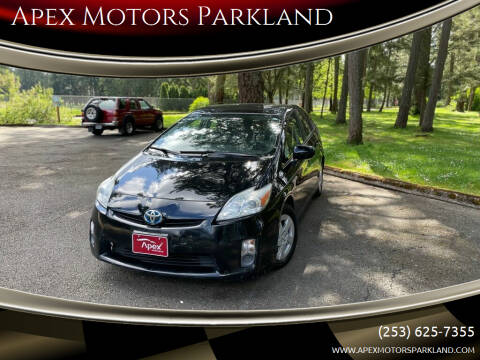 2011 Toyota Prius for sale at Apex Motors Parkland in Tacoma WA