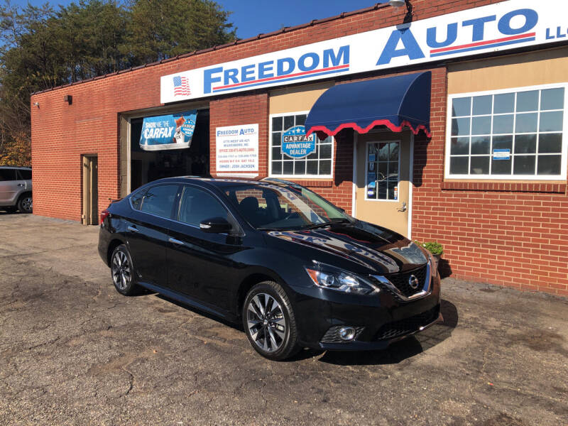 2019 Nissan Sentra for sale at FREEDOM AUTO LLC in Wilkesboro NC