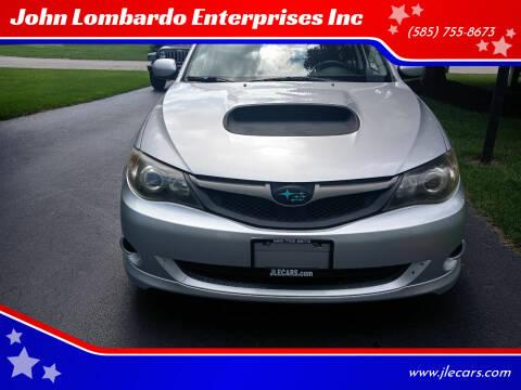 2008 Subaru Impreza for sale at John Lombardo Enterprises Inc in Rochester NY