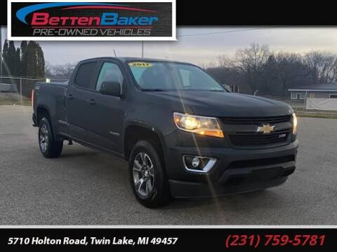 2017 Chevrolet Colorado for sale at Betten Baker Preowned Center in Twin Lake MI
