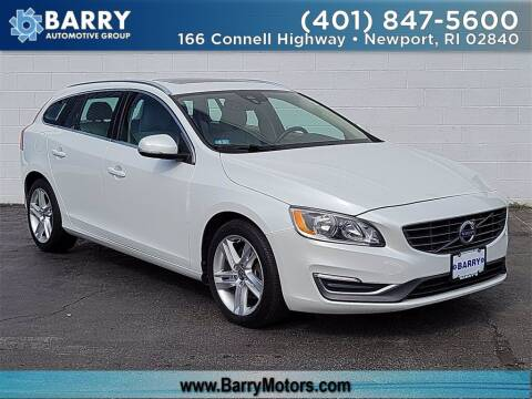 2015 Volvo V60 for sale at BARRYS Auto Group Inc in Newport RI