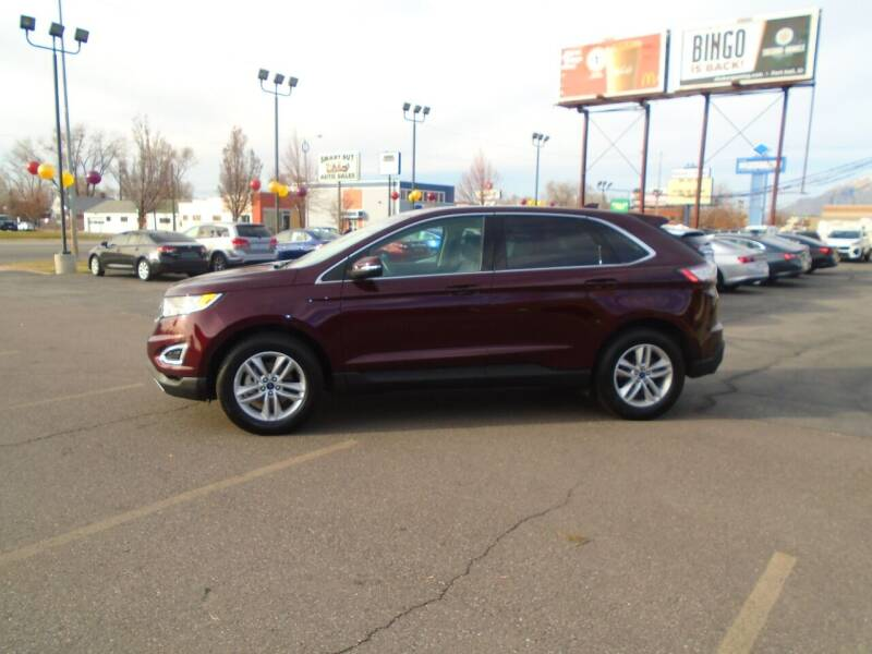 2018 Ford Edge for sale at Smart Buy Auto Sales in Ogden UT