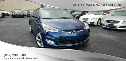 2016 Hyundai Veloster for sale at Auto Trader Wholesale Inc in Saddle Brook NJ