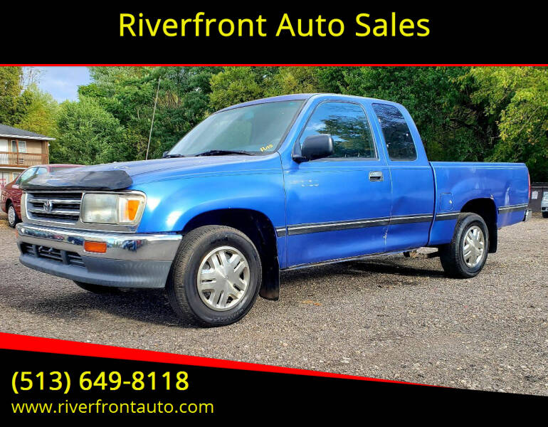 1996 Toyota T100 for sale at Riverfront Auto Sales in Middletown OH