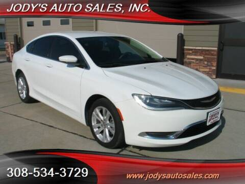 2015 Chrysler 200 for sale at Jody's Auto Sales in North Platte NE