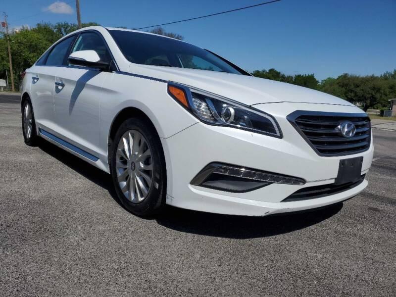 2015 Hyundai Sonata for sale at Thornhill Motor Company in Lake Worth TX