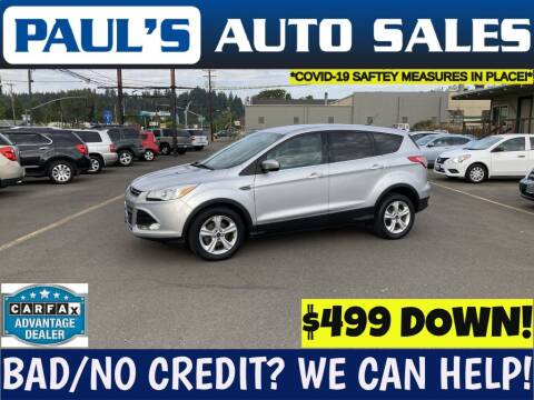 2014 Ford Escape for sale at Paul's Auto Sales in Eugene OR