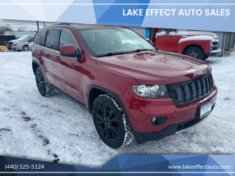 2012 Jeep Grand Cherokee for sale at Lake Effect Auto Sales in Chardon OH