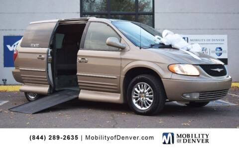 2002 Chrysler Town and Country for sale at CO Fleet & Mobility in Denver CO